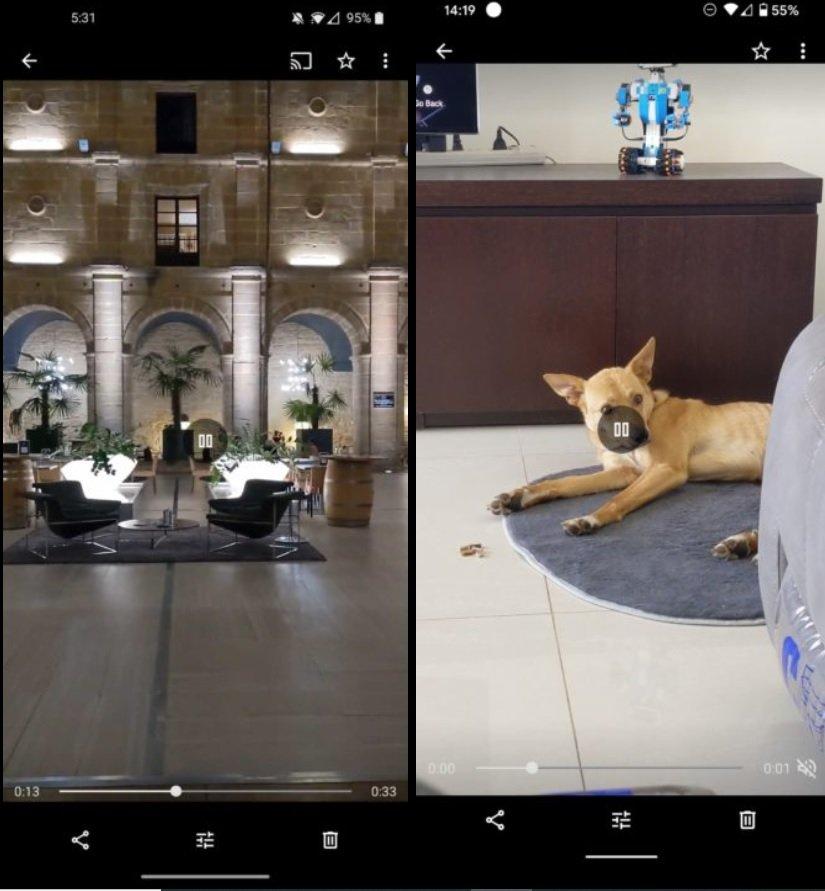 Google-Foto-y-botón-para-silenciar