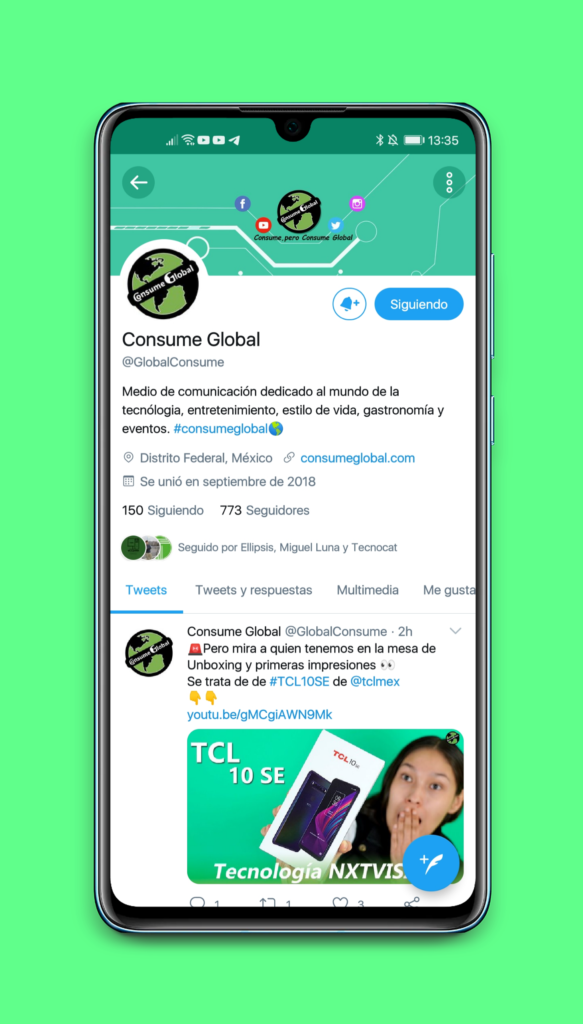 Twitter Consume Global